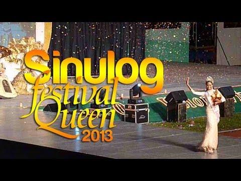 Sinulog Festival Queen 2013 Showdown and April Smith's Final Walk