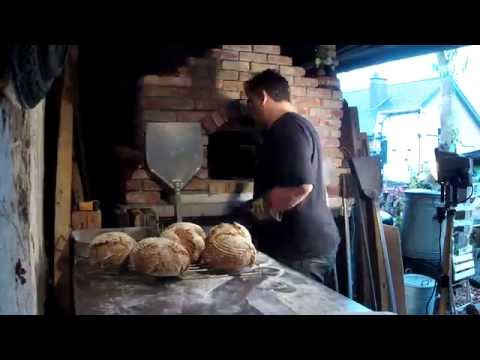 Baking Bread In A Wood Fired Pizza Oven/getting Ready For HGGS 2016