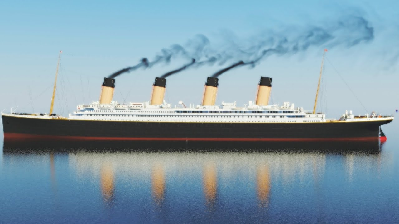 Titanic Color Pictures 100th Anniversary A Journey Through Time