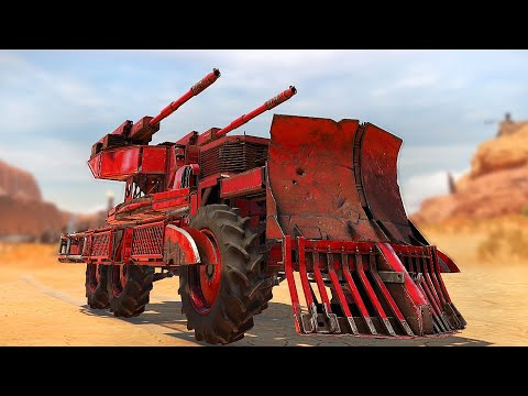 When You Are Completely Surprised By A Build In Crossout