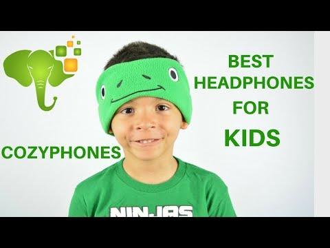 Best Headphones for Kids? -  Cozyphones Kids Headphones Review