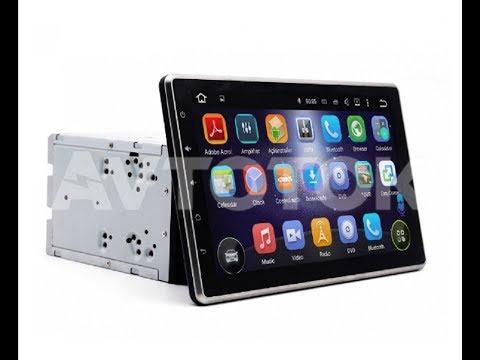 Универсальная 2DIN (178x100) магнитола со съёмным/регулирующимся экраном Android 5.1 NX-1010