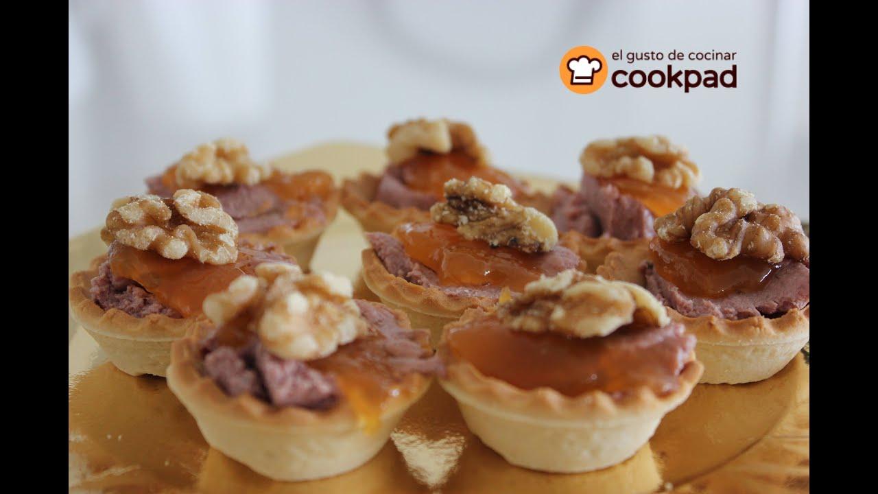 Canap s faciles de pat y mermelada entrante r pido for Canape de pate con cebolla caramelizada