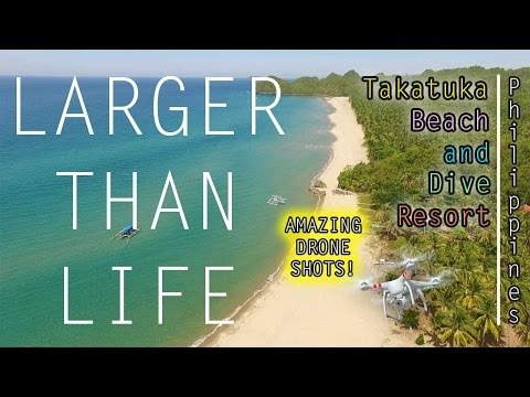 "Takatuka Lodge and Dive Resort Sipalay Philippines ""Larger than Life"""