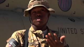Chinook door gunner