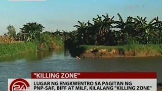 24 Oras: Lugar ng engkwentro sa pagitan ng PNP-SAF, BIFF at MILF, kilalang