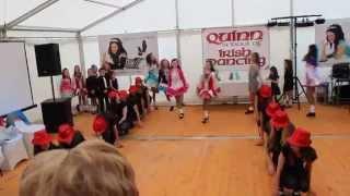quinn school of irish dancing world party 2014