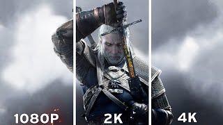 Download lagu The Witcher 3 Wild Hunt 1080p vs 2K vs 4K Graphics Comparison 4K MP3