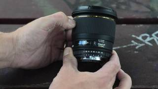 Sigma 24mm F1.8 DG Macro - hands on Intro