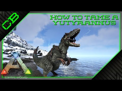 ARK - How to Tame a Yutyrannus - Update 258