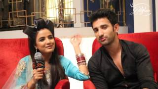 Sidhant Gupta and Jasmin Bhasin in talk with Glitz Vision