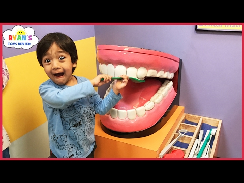 Thumbnail: CHILDREN'S MUSEUM Pretend Play! Family Fun for Kids Indoor Play Area Children Activities