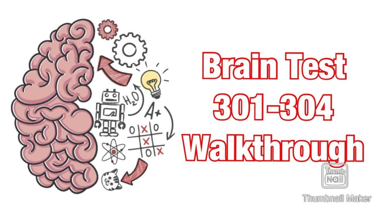 Brain Test - Levels 301-304 Walkthrough
