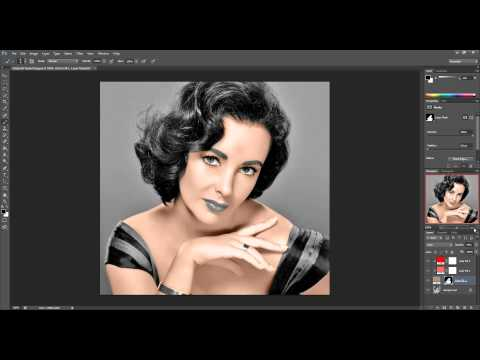 Oshop Tutorial How To Colorize Black And White Os