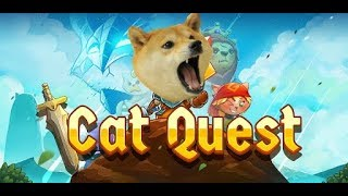 Catquest by a dog