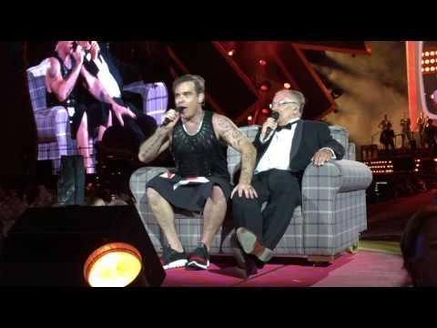 Robbie Williams 22.7.17 München - Sweet Caroline mit Papa Williams