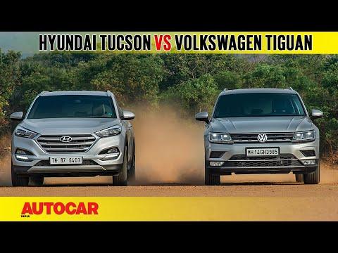 Hyundai Tucson vs Volkswagen Tiguan | Comparison Test | Autocar India