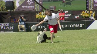Freestyle Flying Disc Winner - 2017 Purina® Pro Plan® Incredible Dog Challenge® Eastern Regionals