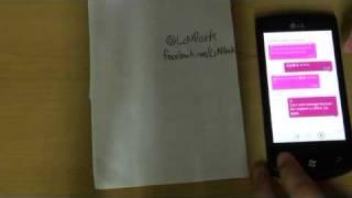 Windows Phone review -3- (LG-E900)