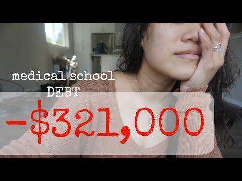 $321,000 in MED SCHOOL DEBT!