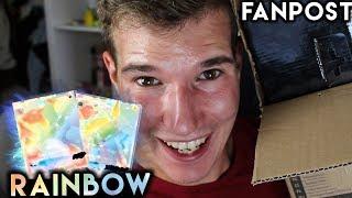 Rainbow Karten & Gewinnspiel! POKÉMON FanPost Opening