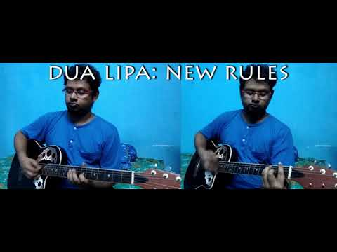 Dua Lipa | New Rules | Indian Guitar instrumental cover