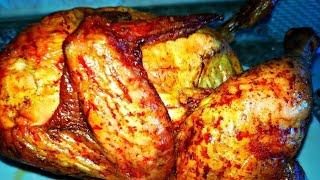 Курица на банке в духовке  Как вкусно запечь курицу в духовке