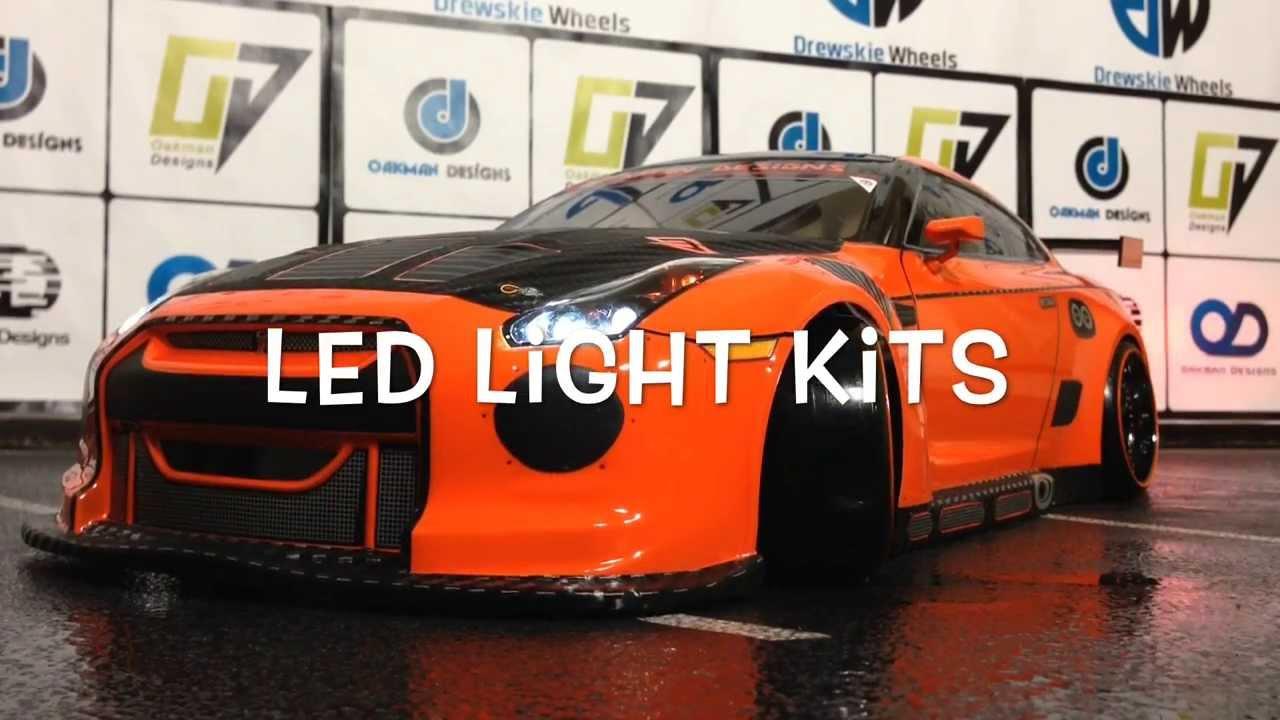 R C Drift Car Show With Custom Sumo Power Nissan Gtr With Custom