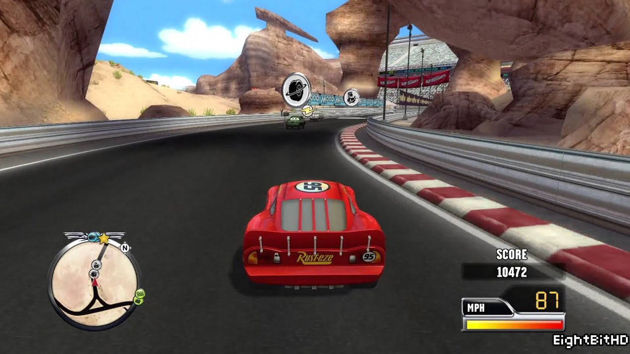 Cars Race O Rama Xbox  Walkthrough