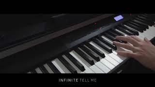 "INFINITE (인피니트) ""Tell Me"" - Piano Cover"