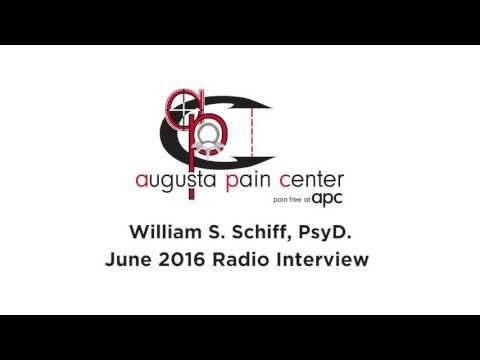 Augusta Pain Center Radio Interview Dr Schiff June 2016