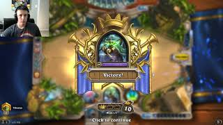 Hearthstone Witchwood- Miracle Rogue- Rank 5 ladder