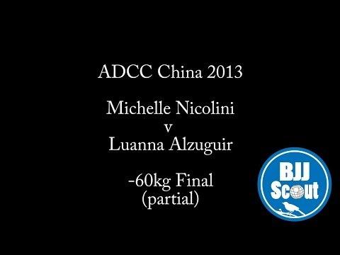 BJJ Scout Bsides: Michelle Nicolini v Luanna Alzuguir ADCC China -60kg Final (partial)