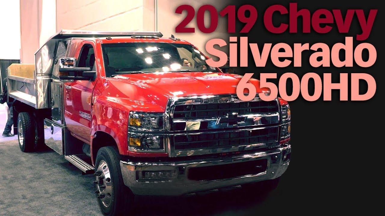 2019 Chevrolet Silverado 6500HD Unveil at The Work Truck ...
