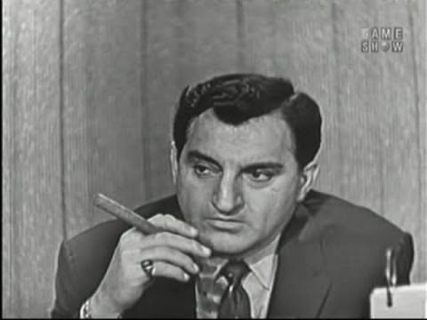 What's My Line? - Danny Thomas; Ernie Kovacs [panel] (Oct 6, 1957)