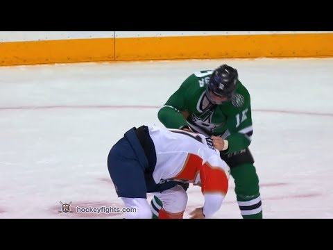 Derek MacKenzie vs Radek Faksa Jan 23, 2018