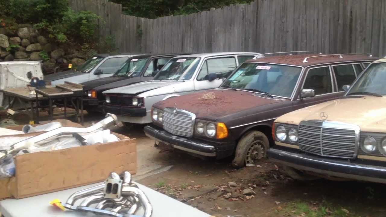 Junk Mercedes Benz Cars At Auction Youtube