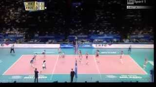 ITALIA vs RUSSIA - Mondiali Volley Femminile 2014