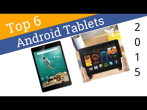 6 Best Android Tablets 2015