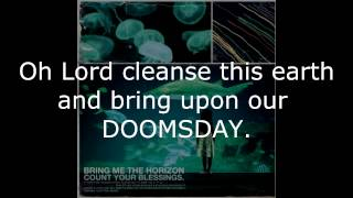 Pray For Plagues - Bring Me The Horizon W/ lyrics (HQ)