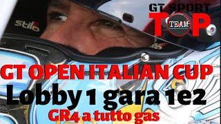GT SPORT TOP TEAM - GT OPEN ITALIAN CUP - lobby 1 gara 1 e 2 BILLY &  MATTY