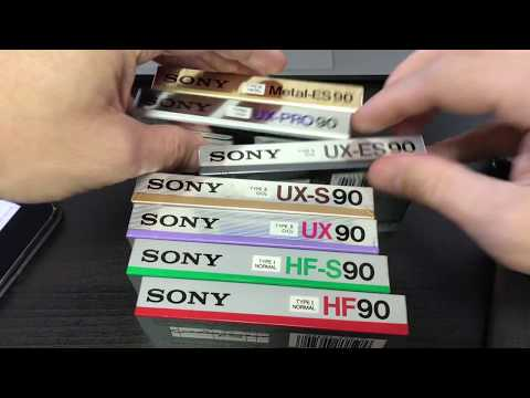 eBay Blank Cassette Tape Haul from YouTube · Duration:  8 minutes 26 seconds