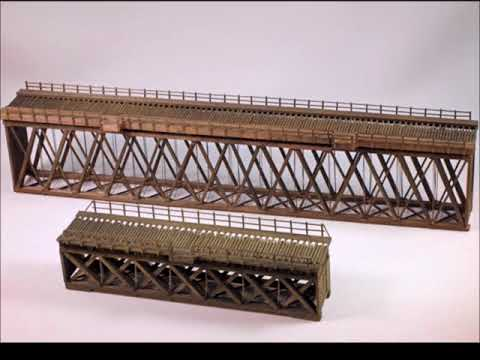 Building A Hunterline 86' Howe Truss Deck Wood Bridge Kit