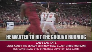The B1G Basketball Podcast: Jae'Sean Tate Talks Coach Holtmann thumbnail