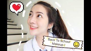 แต่งหน้าใสๆครูไม่รู้หรอก l Back to School Makeup By Avalyn