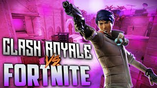 FORTNITE VS CLASH ROYALE / fortnite on android /fortnite on mobile/how to get fortnite on mobile