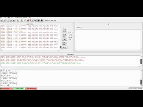 Motor controller CAN messages DVT II - YouTube
