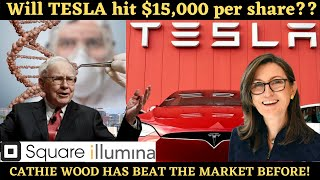Will Tesla hit $15,000 per share!?? Cathie Wood on TESLA Stock (Ark innovation ETF)