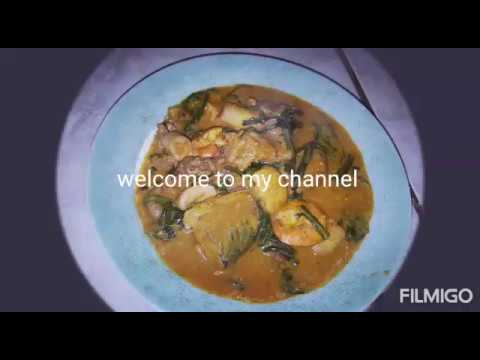 How To Make Ogbono Soup Very Easy And Delicious