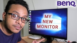 UNBOXING MY NEW MONITOR || BENQ GW2480 IPS 1080P 24inch FHD